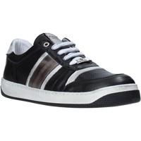 Schuhe Herren Sneaker Low Exton 310 Schwarz