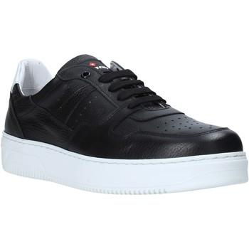 Schuhe Herren Sneaker Low Exton 427 Schwarz