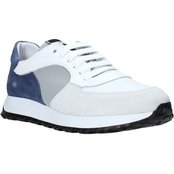 Schuhe Herren Sneaker Low Exton 741 Weiß