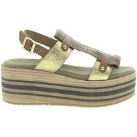 Schuhe Damen Sandalen / Sandaletten Pregunta IBH15804 Braun