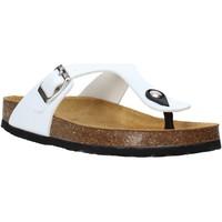 Schuhe Kinder Zehensandalen Bamboo BAM-222 Weiß