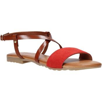 Schuhe Damen Sandalen / Sandaletten Jeiday YARA-SALLY Rot