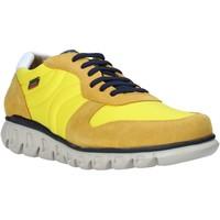 Schuhe Herren Sneaker Low CallagHan 12903 Gelb