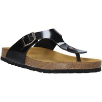 Schuhe Kinder Zehensandalen Bamboo BAM-222 Schwarz