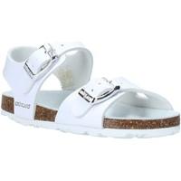 Schuhe Kinder Sandalen / Sandaletten Grunland SB0027 Weiß