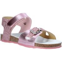 Schuhe Mädchen Sandalen / Sandaletten Grunland SB1501 Rosa