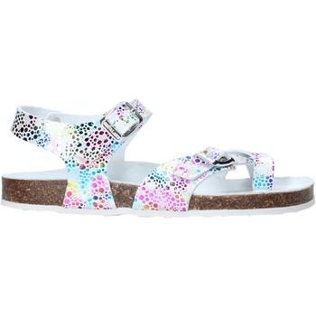 Schuhe Mädchen Sandalen / Sandaletten Grunland SB1503 Weiß