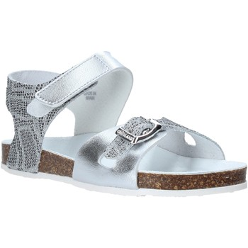 Schuhe Mädchen Sandalen / Sandaletten Grunland SB1501 Silber