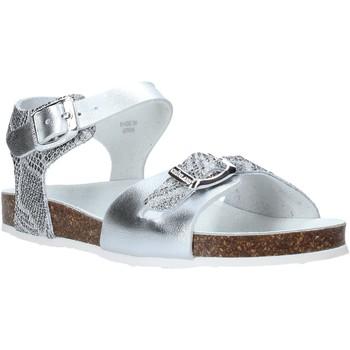 Schuhe Kinder Sandalen / Sandaletten Grunland SB1500 Silber