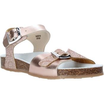 Schuhe Mädchen Sandalen / Sandaletten Grunland SB1500 Beige