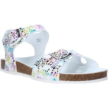 Schuhe Mädchen Sandalen / Sandaletten Grunland SB1502 Weiß