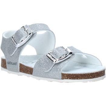Schuhe Kinder Sandalen / Sandaletten Grunland SB1258 Silber