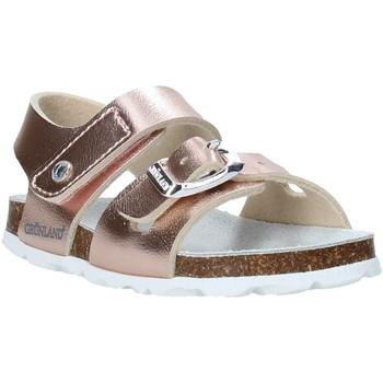 Schuhe Mädchen Sandalen / Sandaletten Grunland SB0389 Rosa