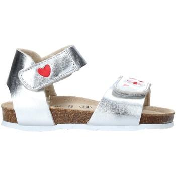 Schuhe Mädchen Sandalen / Sandaletten Grunland SB1546 Silber