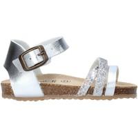 Schuhe Mädchen Sandalen / Sandaletten Grunland SB1544 Silber