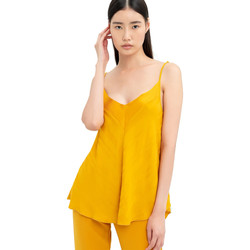 Kleidung Damen Tops / Blusen Fracomina FR20SM551 Gelb