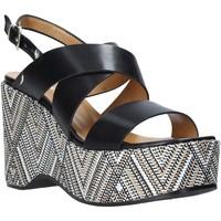 Schuhe Damen Sandalen / Sandaletten Grace Shoes 104010 Schwarz