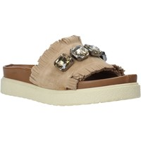 Schuhe Damen Pantoffel Bueno Shoes CM2217 Beige