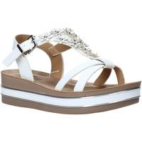 Schuhe Mädchen Sandalen / Sandaletten Joli JT0085S Weiß