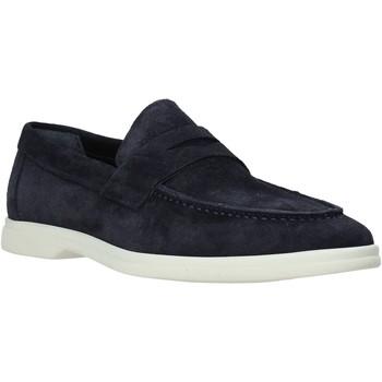 Schuhe Herren Slipper Marco Ferretti 161408MF Blau