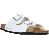 Schuhe Damen Pantoffel Grunland CB1035 Weiß