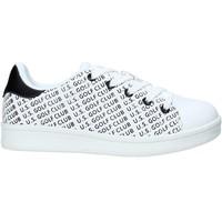 Schuhe Kinder Sneaker Low U.s. Golf S20-SUK621 Weiß
