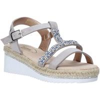 Schuhe Mädchen Sandalen / Sandaletten Miss Sixty S20-SMS785 Silber