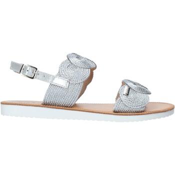 Schuhe Mädchen Sandalen / Sandaletten Miss Sixty S20-SMS786 Silber