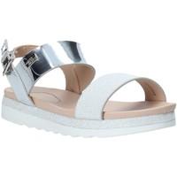 Schuhe Mädchen Sandalen / Sandaletten Miss Sixty S20-SMS797 Silber
