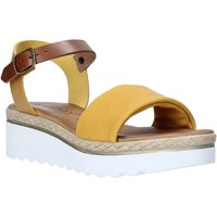 Schuhe Damen Sandalen / Sandaletten Jeiday 1278-9696 Gelb