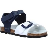 Schuhe Kinder Sandalen / Sandaletten Grunland SB0027 Blau