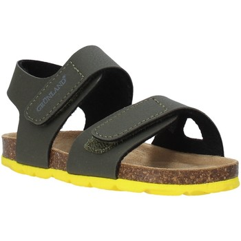 Schuhe Kinder Sandalen / Sandaletten Grunland SB0094 Grün