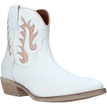 Schuhe Damen Low Boots Mally 6629S Weiß