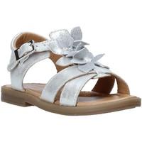 Schuhe Mädchen Sandalen / Sandaletten Grunland PS0062 Silber