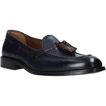Schuhe Herren Slipper Marco Ferretti 161446MF Blau
