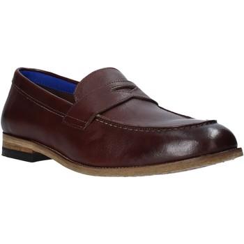 Schuhe Herren Slipper Marco Ferretti 161391MF Braun
