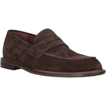 Schuhe Herren Slipper Marco Ferretti 860003MF Braun
