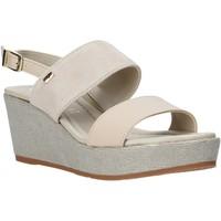 Schuhe Damen Sandalen / Sandaletten Valleverde 32212 Beige