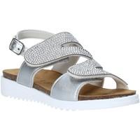 Schuhe Mädchen Sandalen / Sandaletten Grunland SB1559 Silber
