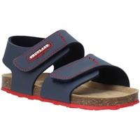 Schuhe Kinder Sandalen / Sandaletten Grunland SB0802 Blau