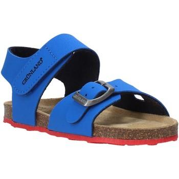 Schuhe Kinder Sandalen / Sandaletten Grunland SB0372 Blau