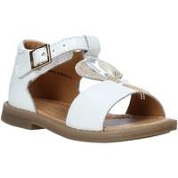 Schuhe Mädchen Sandalen / Sandaletten Grunland PS0063 Weiß