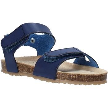 Schuhe Kinder Sandalen / Sandaletten Grunland SB1550 Blau