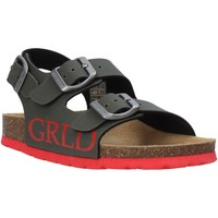 Schuhe Kinder Sandalen / Sandaletten Grunland SB1516 Grün