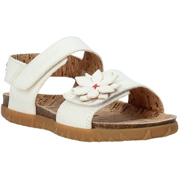 Schuhe Mädchen Sandalen / Sandaletten Grunland SB1564 Weiß