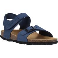 Schuhe Kinder Sandalen / Sandaletten Grunland SB0236 Blau