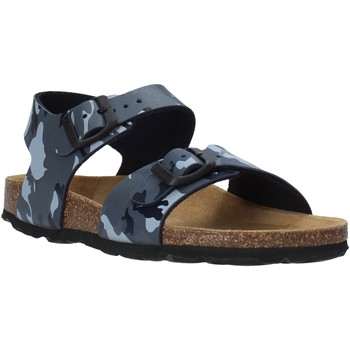 Schuhe Kinder Sandalen / Sandaletten Grunland SB0115 Grau