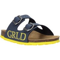 Schuhe Kinder Pantoffel Grunland CB2420 Blau