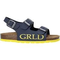 Schuhe Kinder Sandalen / Sandaletten Grunland SB1516 Blau