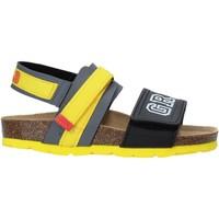 Schuhe Kinder Sandalen / Sandaletten Grunland SB1517 Grau
